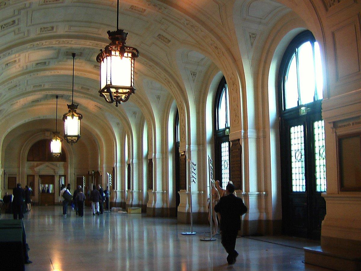 Galéria - Université Paris 1 Panthéon-Sorbonne - hall entree ...